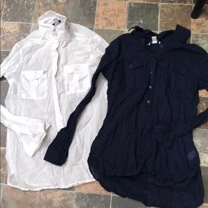 Two Old Navy Button Downs